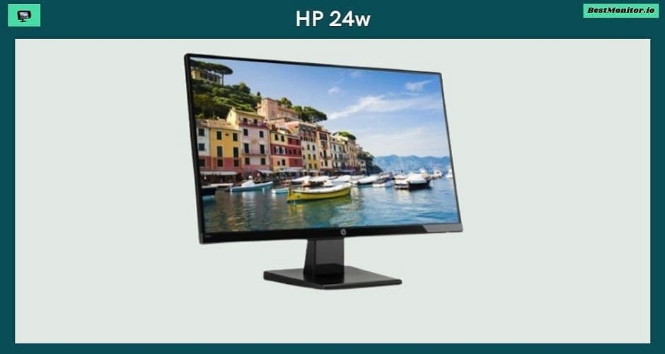 HP 24w Monitor Review
